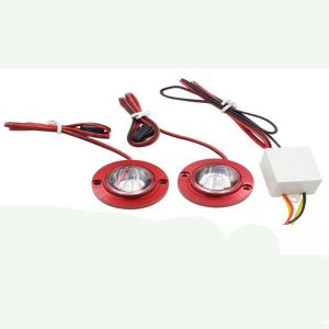 Capeshoppers Strobe Light For Hero Motocorp Cbz Ex-treme Double Seatercs010584