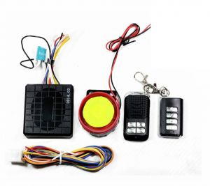 Capeshoppers Yqx Ultra Small Anti-theft Security Device And Alarm For Mahindra Duro Dz Scooty