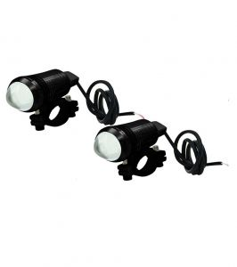 Capeshoppers Cree-u1 LED Light Bead For Hero Motocorp Cbz