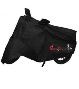 Capeshoppers New Advance Bike Body Cover Black For Tvs Super Xl S/s