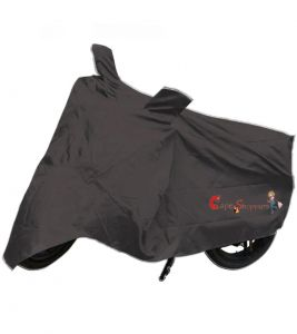 Capeshoppers New Advance Bike Body Cover Grey For Honda Shine Disc