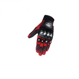Capeshoppers Monster Biker Driving Gloves (l, Red, Multicolor)