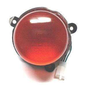 Capeshoppers Bike Tail Light Assembly For Royal Bullet Twinspark 500
