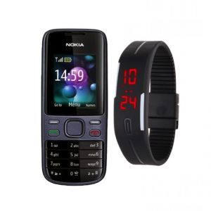 Nokia Nokia - Nokia 2690 Mobile With Free Led Digital Watch