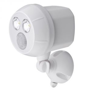 Mrbeams Mb380 Ultrabright LED Wireless Motion Sensor Spotlight,white,1-pack