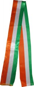 India Flag Colour Silk Scarf Pack Of 10