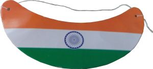 Indian Flag Paper Cap Pack Of 100