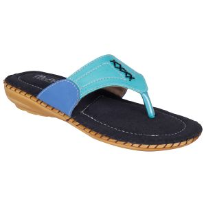 Mappy Green Flat Slip On For Women-(product Code-1301-green)