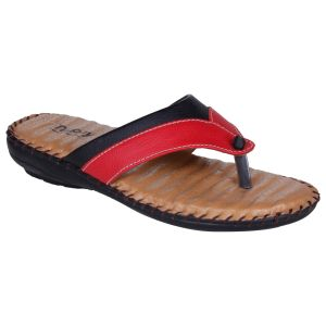 Mappy Red Flat Slip On For Women-(product Code-1305-red)