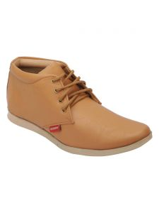 Bachini Half Ankle Boot For Men-(code-1501-tan)