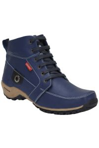 Bachini Half Ankle Boot For Men-(code-1509-blue)