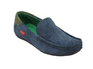 Loafers (Men's) - Bachini Loafer For Men-(Code-1511-Navy Blue)