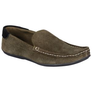 Bachini Loafer For Men-(code-1511-olive)