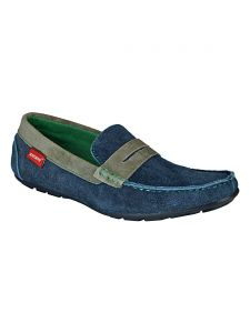 Bachini Loafer For Men-(code-1518-navy Blue)