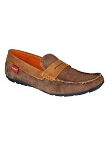 Bachini Loafer For Men-(code-1518-tan)