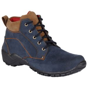 Bachini Half Ankle Boot For Men-(code-1528-navy Blue)