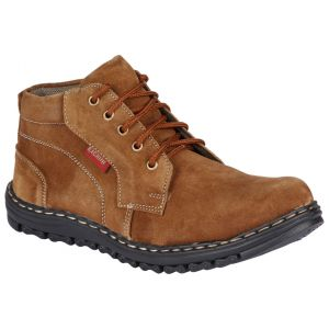 Bachini Half Ankle Boot For Men-(code-1530-tan)