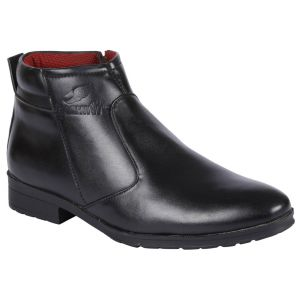 Bachini Half Ankle Boot For Men-(code-1531-black)