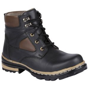 Bachini Half Ankle Boot For Men-(code-1534-black)
