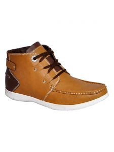 Bachini Half Ankle Boot For Men-(code-1540-tan)