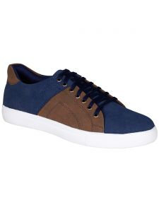 Bachini Blue Mens Casual Shoe Lace Up - ( Product Code - 1545-blue )