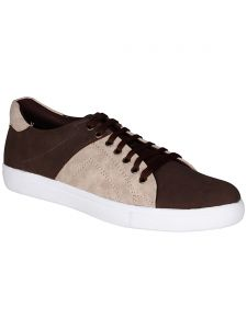 Bachini Brown Mens Casual Shoe Lace Up - ( Product Code - 1545-brown )