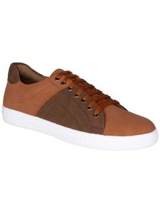 Bachini Tan Mens Casual Shoe Lace Up - ( Product Code - 1545-tan )