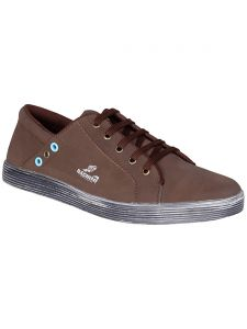 Bachini Brown Mens Casual Shoe Lace Up - ( Product Code - 1546-brown )