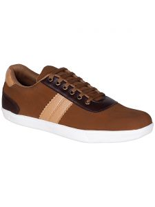 Bachini Tan Mens Casual Shoe Lace Up - ( Product Code - 1547-tan )