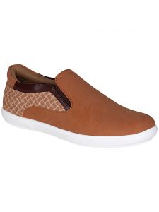 Bachini Tan Mens Casual Shoe Slipon - ( Product Code - 1548-tan )