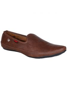 Bachini Brown Mens Casual Shoe Slipon - ( Product Code - 1549-brown )