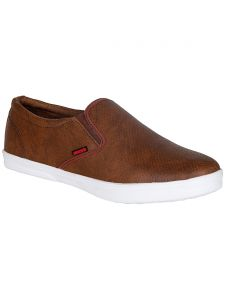 Bachini Tan Mens Casual Shoe Slipon - ( Product Code - 1550-tan )