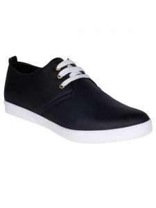 Bachini Black Mens Casual Shoe Lace Up - ( Product Code - 1551-black )