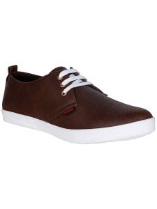 Bachini Brown Mens Casual Shoe Lace Up - ( Product Code - 1551-brown )