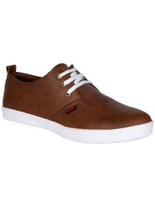Bachini Tan Mens Casual Shoe Lace Up - ( Product Code - 1551-tan )