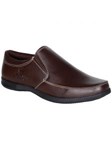 Bachini Brown Slip On Casual Shoes For Mens (product Code - 1559-brown)