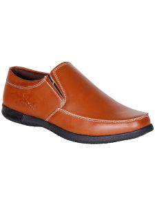 Bachini Tan Slip On Casual Shoes For Men (product Code - 1559-tan)
