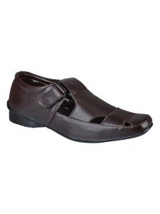 Bachini Sandal For Men-(code-1582-brown)