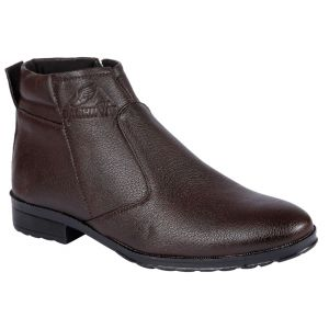 Bachini Half Ankle Boot For Men-(code-1584-brown)