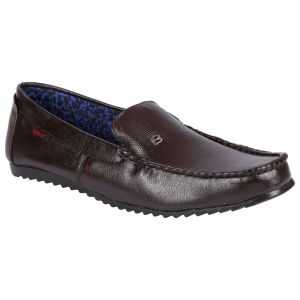 Bachini Loafer For Men-(code-1586-brown)