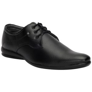 Bachini Black Formal Shoes For Men (product Code - 1591-black)