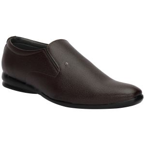 Bachini Brown Formal Shoes For Men (product Code - 1592-brown)