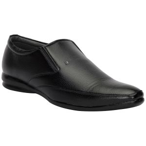 Apparels & Accessories - BACHINI Black Formal Shoes for Men (Product Code - 1594-Black)