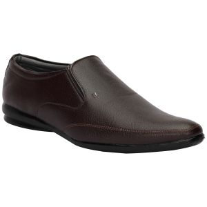 Formal Shoes (Men's) - BACHINI Brown Formal Shoes for Men (Product Code - 1595-Brown)