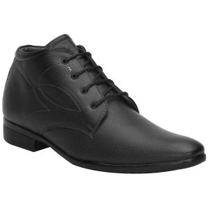Bachini Black Formal Shoes For Men (product Code - 1596-black)