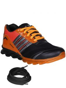 Bachini Orange Mens Sports Shoes-(product Code-1601-orange)