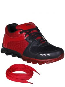 Bachini Red Mens Sports Shoes-(product Code-1602-red)