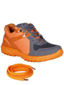 Bachini Orange Mens Sports Shoes-(product Code-1603-orange)