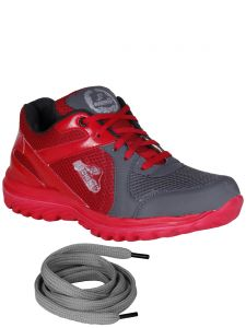 Bachini Red Mens Sports Shoes-(product Code-1603-red)