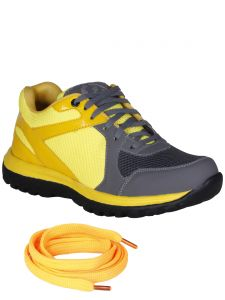 Bachini Yellow Mens Sports Shoes-(product Code-1603-yellow)